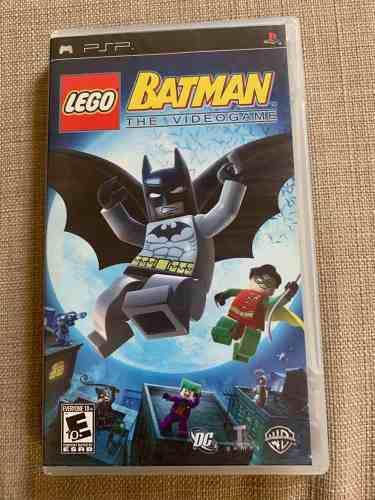 Juego Para Psp Lego Batman The Videogame
