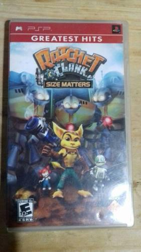 Ratchet And Clank Size Matters Juego Psp