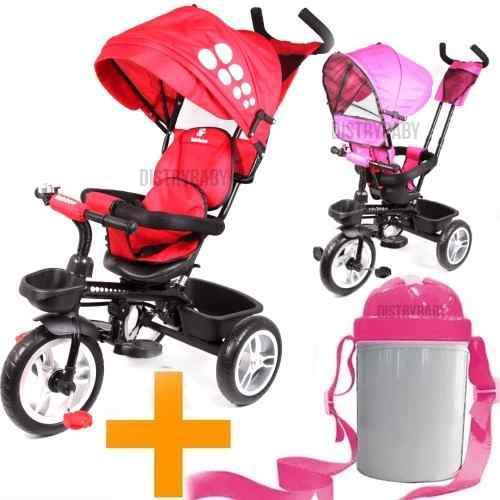 Triciclo Bebe Infantil Nena Nene Bebe Asiento 360°