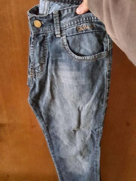 1 Jeans Y 1 Pantalón P/ Niño/adolescente