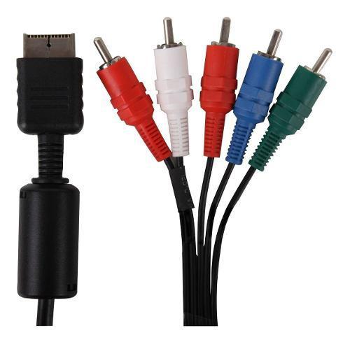 Cable Video Componente Ps3 Ps2 Ps1 Playstation Envíos Gtía
