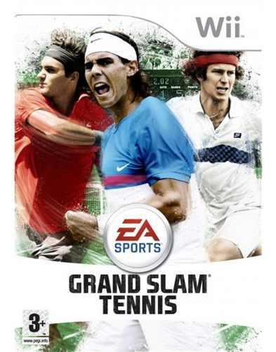 Juego Físico Grand Slam Tennis Wii Oferta Liquidación