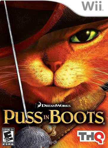 Juego Físico Puss In Boots Wii Oferta Liquidación