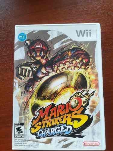 Juego Nintendo Wii Mario Strikers Charged
