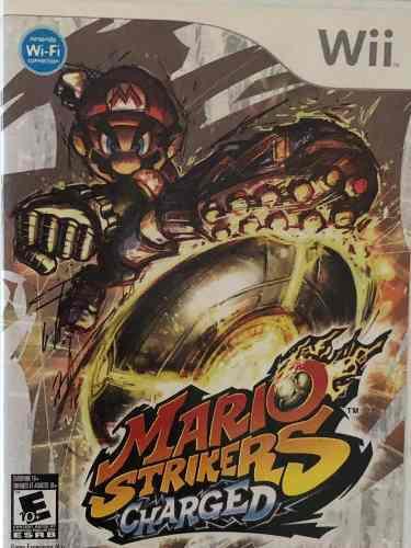 Juego Wii Original Mario Strikers Charged