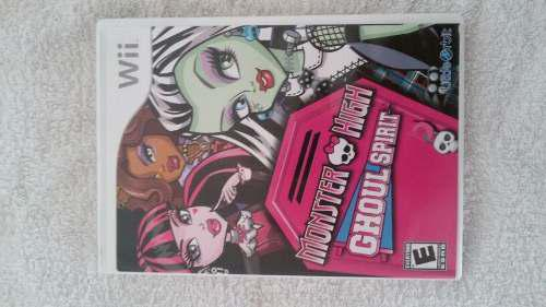 Juego Wii Original Usa Usados Monster High