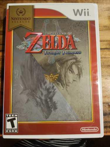 Juego Wii The Legend Of Zelda Twilight Princess. Original