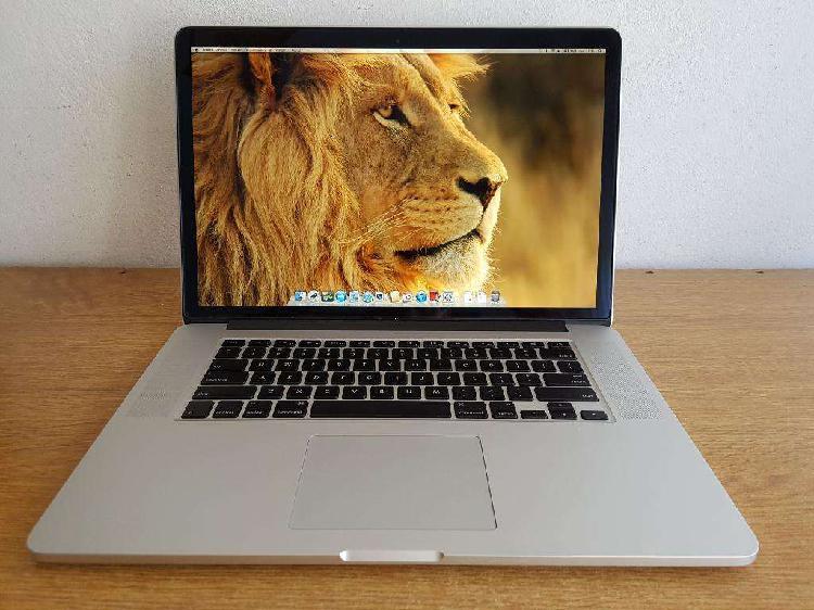 Macbook Pro 15 Retina I7 500gb 3 Ciclos