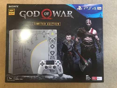 Sony Ps4 Pro 1tb, God Of War Limited Edition
