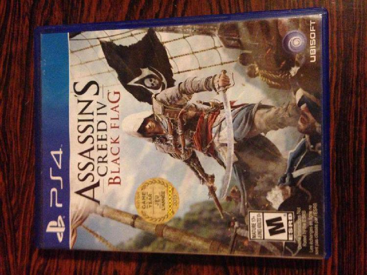 Assassins Creed 4 Iv Black Flag Ps4 Juego Fisico