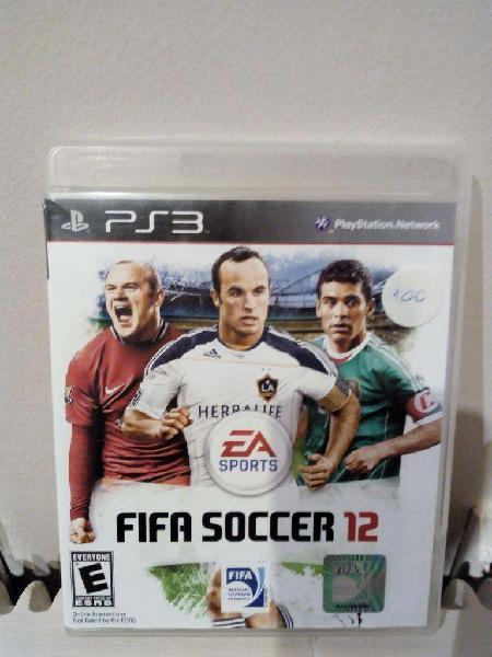 Juego Fifa Soccer 12 Play Station 3