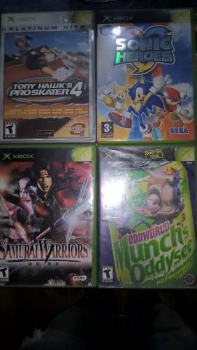 Lote De Juegos Xbox Clásica Originales (precio Por Unidad)