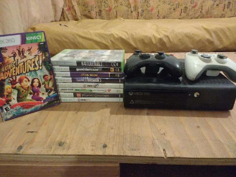 XBOX Kinect 4 gb Original sin chipear mas 9 juegos