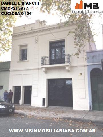 Barracas venta casa c\galpon santa maria al 800 en Barracas