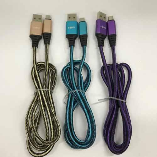 Cable Micro Usb Carga Rápida 2.1a Mallado 2 Metros