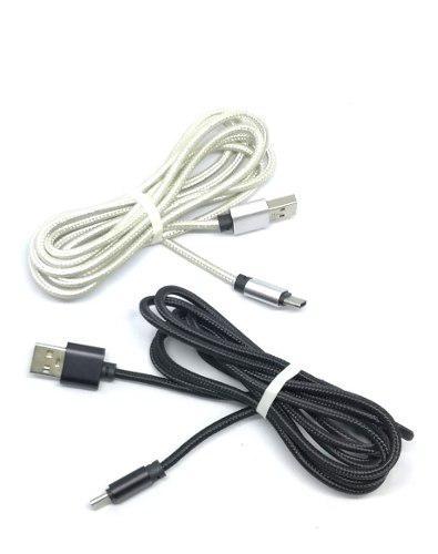 Cable Usb Tipo C 2a Largo 2 Metros Reforzado Google Motorola