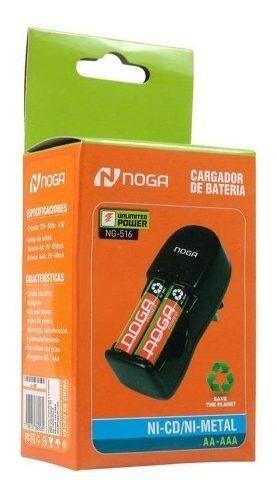 Cargador De Baterias Aaa / Aa Noga Ng-516 Figuecell