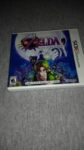 Juego Nintendo 3ds Zelda The Legends Of Majora's Mask