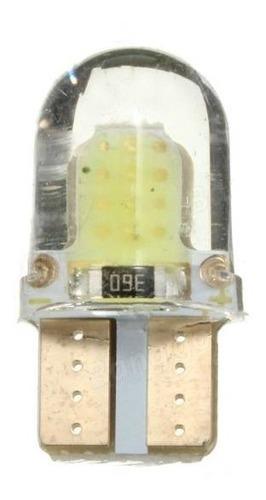 Lampara Led Posicion Mini Silicona Gel Interior Optica T10