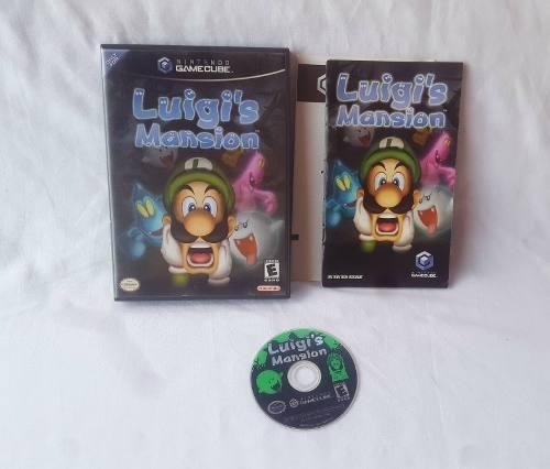 Luigi's Mansion Para Nintendo Gamecube Original Completo