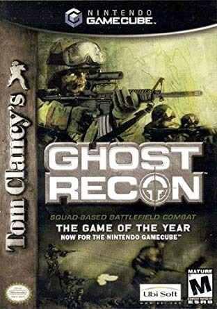 Nintendo Gamecube Ghost Recon Usado En Su Caja Original