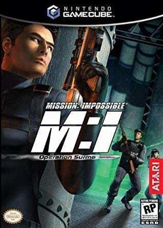 Nintendo Gamecube Mission Imposible Original En Su Caja