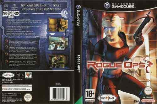 Nintendo Gamecube Rogue Ops Original Usado En Su Caja