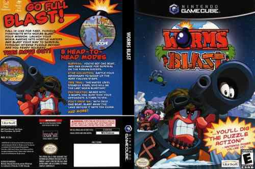 Nintendo Gamecube Worms Blast Original Usado Impecable