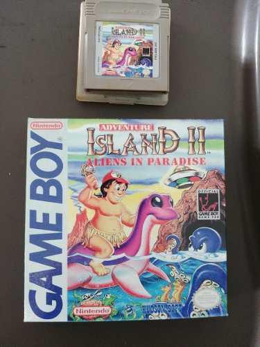 Adventure Island Juego Nintendo Game Boy Original