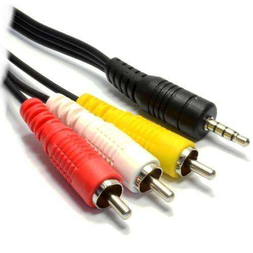 Cable Mini Plug 3,5mm A 3 Rca 1,5 Metros