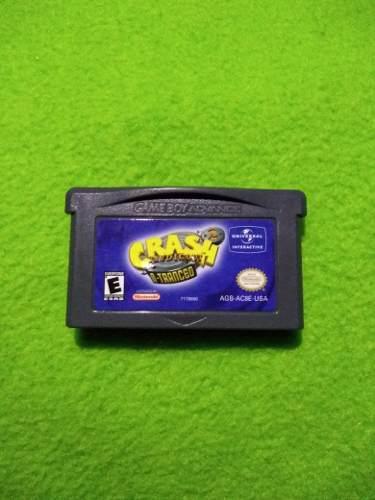 Juego Crash Bandicoot N Trances Para Game Boy Advance