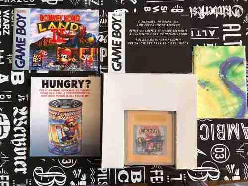 Juego Donkey Kong Land 3 Para Game Boy - Completo