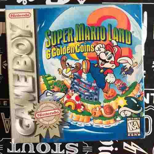 Juego Super Mario Land 2 Para Game Boy - Original - Inglés