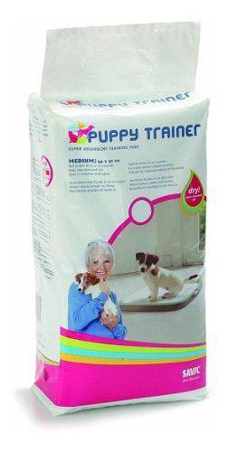 Paños Pañales Entrenamiento Perro 45x30 Puppy Trainer M