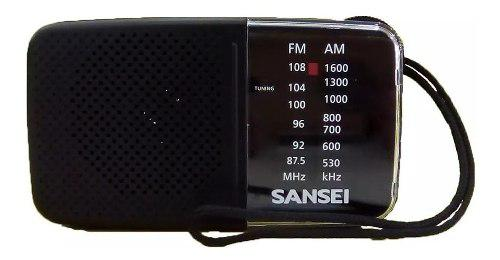 Radio Portatil Analogica De Bolsillo Sansei Rx7 Am/fm