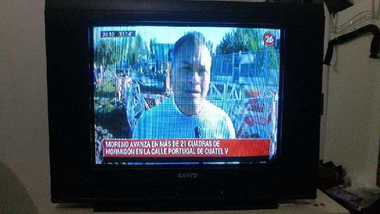 Vendo Tv Sanyo 21'' Pantalla Plana 1200