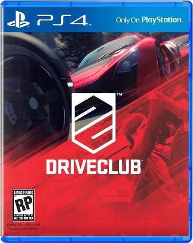 Driveclub Juego Físico Playstation 4 Ps4 Nuevo Oferta!!!