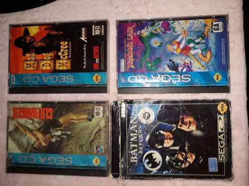Lote Juegos Originales Sega Cd Excelentes!