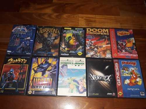 Lote Juegos Sega Muy Buenos Titulos!