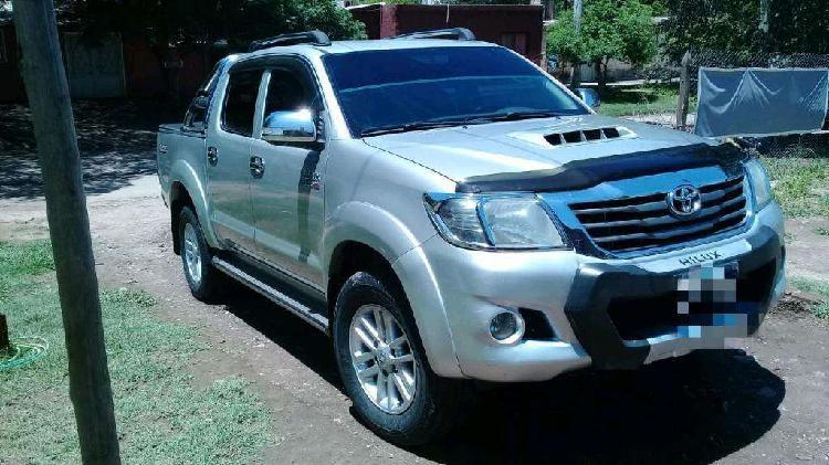 Toyota Hilux Srv Cuero 4x2 2013 Original