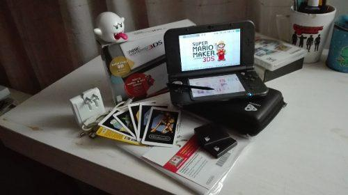 New Nintendo 3ds Flasheada Con Cargador Y Funda