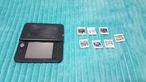 Nintendo 3ds Xl Con 7 Juegos, Como Nueva Y Sin Uso!
