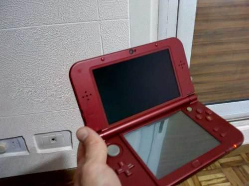 Nintendo Vendo Permuto New 3ds Xl Roja Con Muchos Juegos