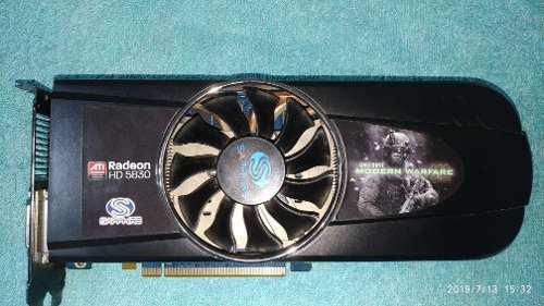 Placa De Video Radeon Hd 5830.