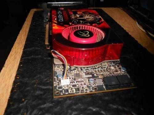 Placa De Video Xfx Ati Radeon Hd4870 1gb Ddr5 256bit Dvix2