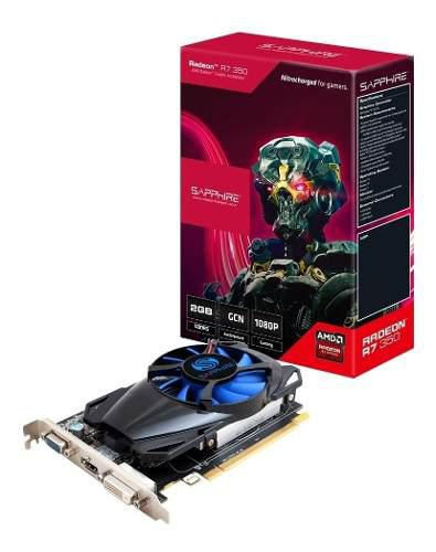 Placa Video Amd Ati Radeon Sapphire R7 350 2gb Ddr5 2
