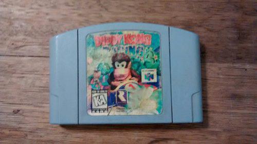 Juego Diddy Kong Racing Usado Para Consola Nintendo 64