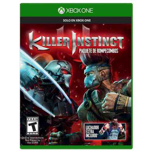 Juego Físico Xbox One Killer Instinct Retail Caja Sellada