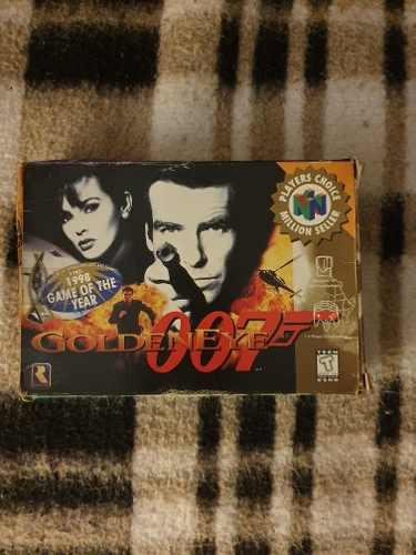Juego Para Consola Nintendo 64 N64 007 Goldeneye