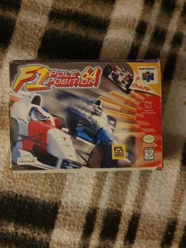 Juego Para Consola Nintendo 64 N64 F1 Pole Position 64